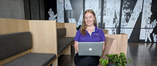 Occupational Therapist Emily McLeod servicing home care and NDIS package clients in the comfort of their home