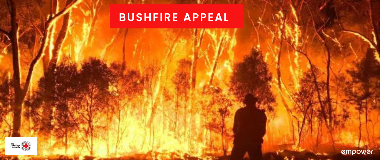 Empower Healthcare's Bushfire Appeal to raise money for the Red Cross