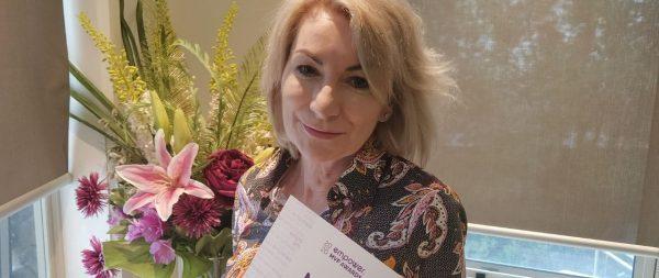 Most Valued Partner Jan award Winner - Megan Holmes
