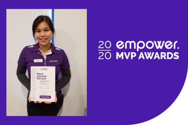 Most Valued Person Award July - Felicia Yapp, Occupational Therapist
