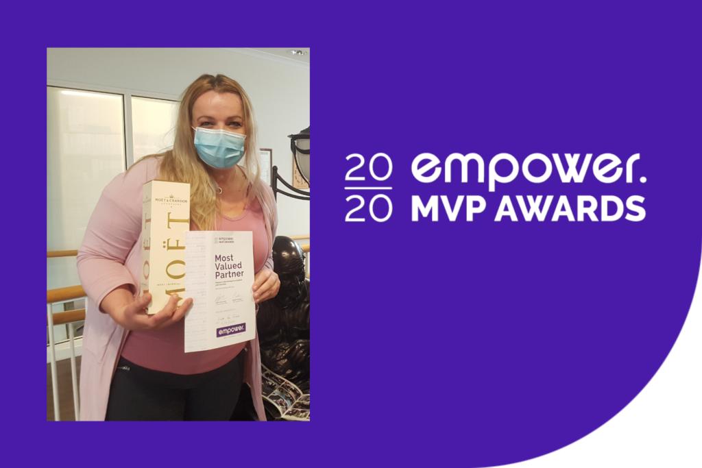 MVP Sep Winner - Linda Van Egmond