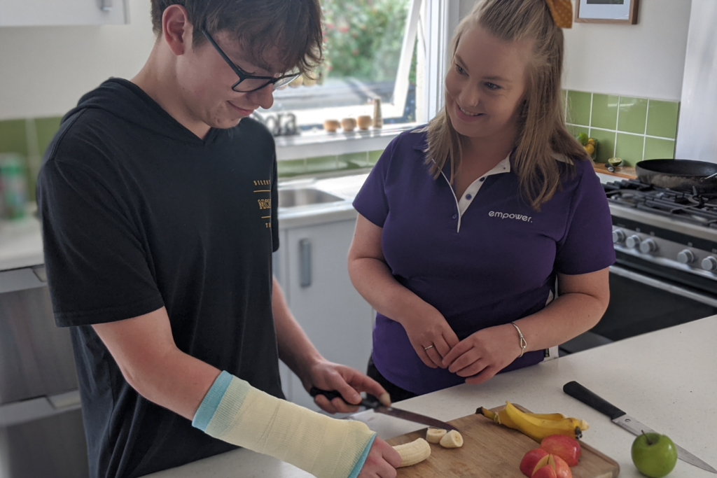 Kinnon Carves Up Life - NDIS Story - Occupational Therapy
