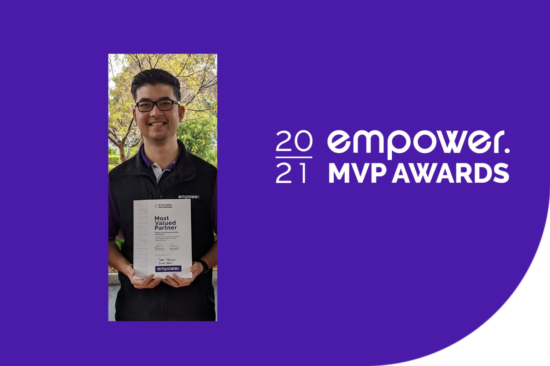 Sam Tobias – Most Valued Person Award Winner, June 2021