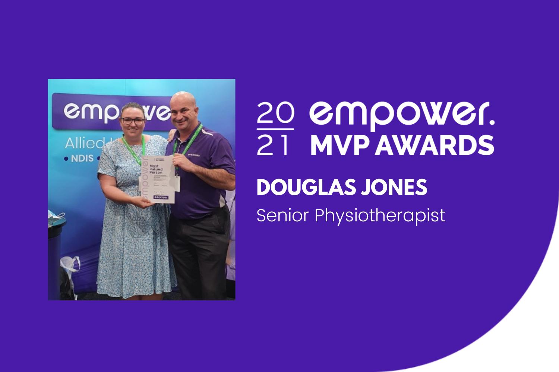 Douglas Jones - MVP Aug 2021